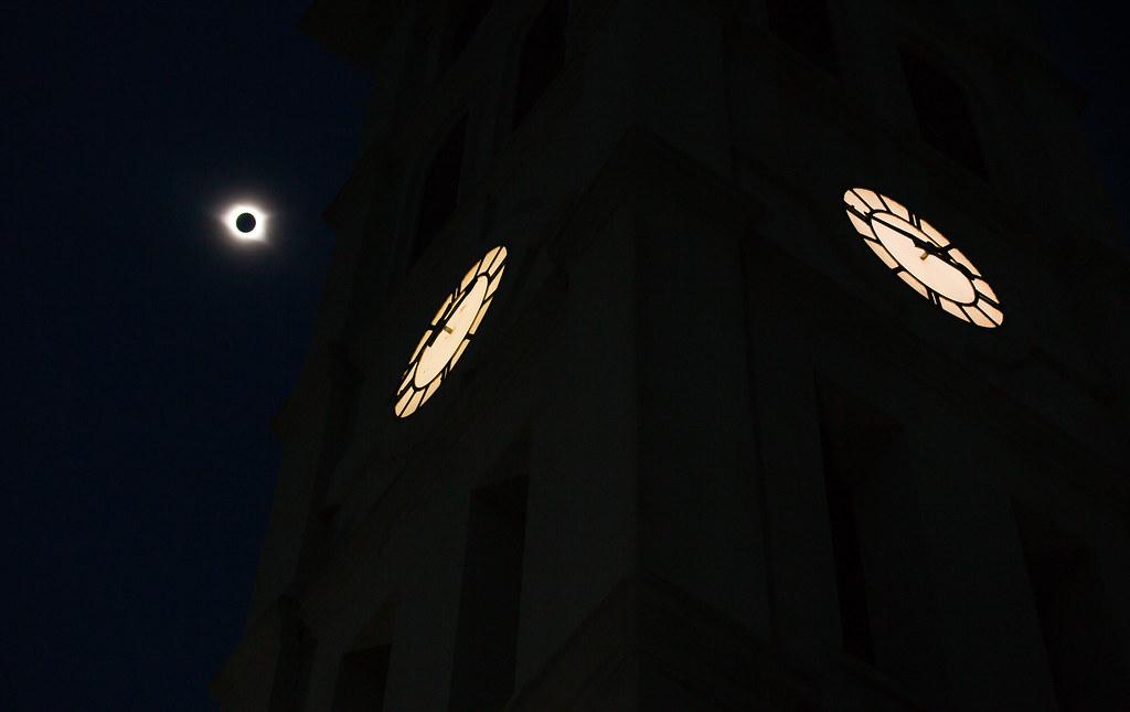 Eclipse@Furman (Photography by Jeremy Fleming)