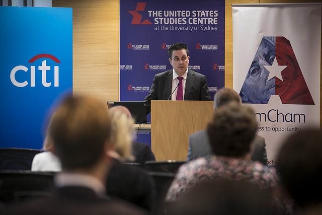 The US-Australia investment relationship report launch, Sydney