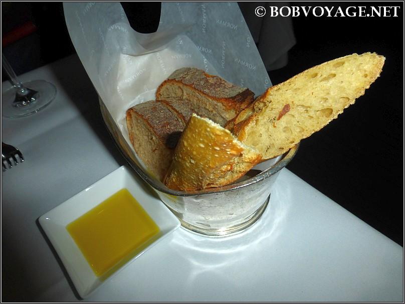 סלסלת מאפים ב- בראסרי נורמן (brasserie norman)