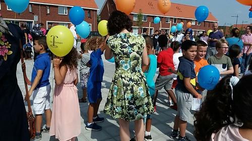 Heliumballonnen Back to School OBS De Fontein Breda