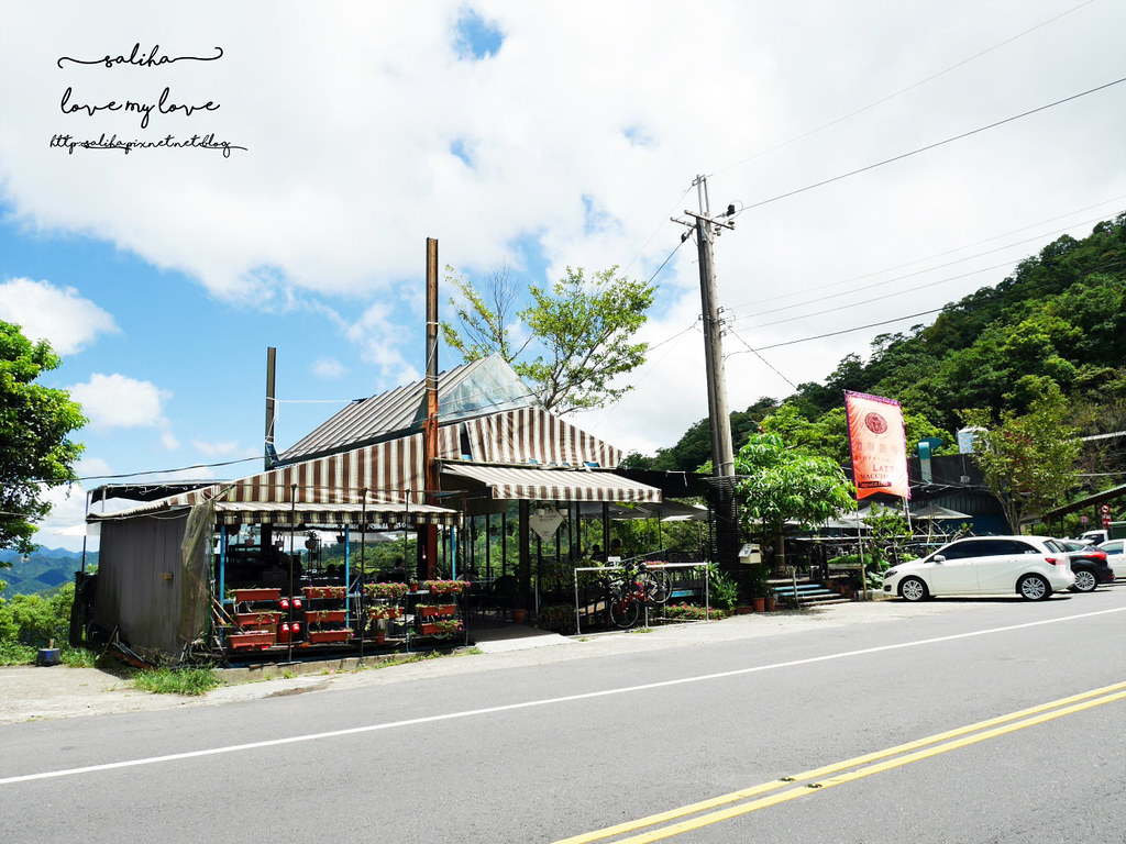石碇北宜路五段景觀咖啡廳推薦海倫咖啡重機