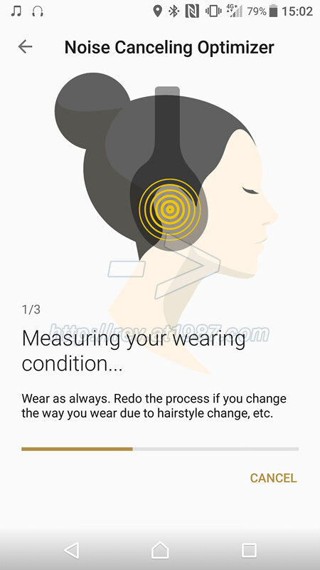 Sony | Headphones Connect Noise Canceling Optimizer