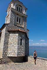 Klasztor św. Nauma o poranku