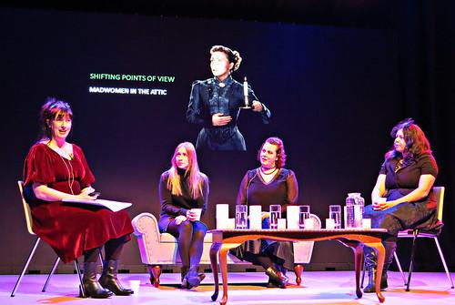 Rachael King, Rebecca Vaughan, Karen Healey, and Moata Tamaira