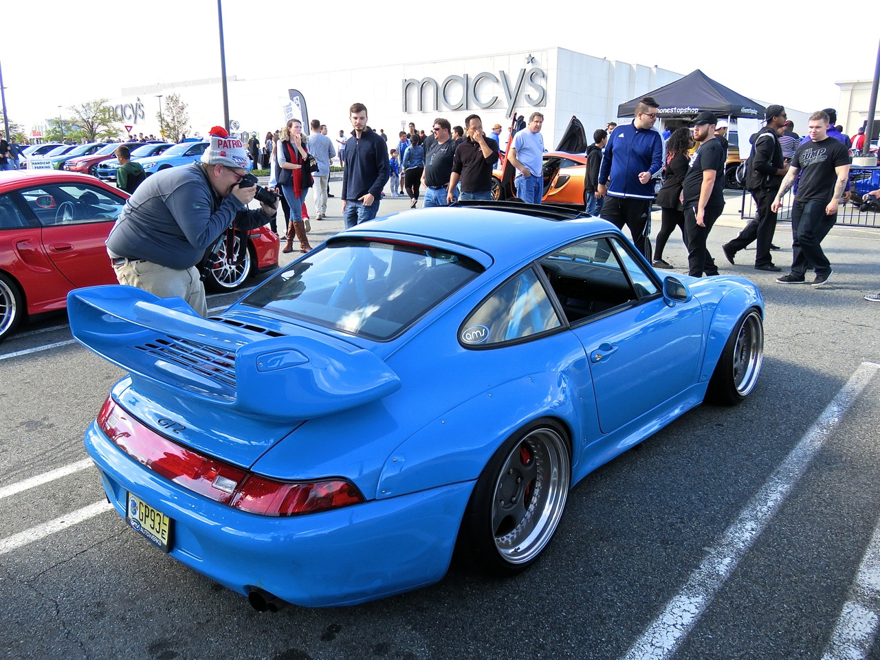 Porsche 993 Turbo at Garden State Plaza