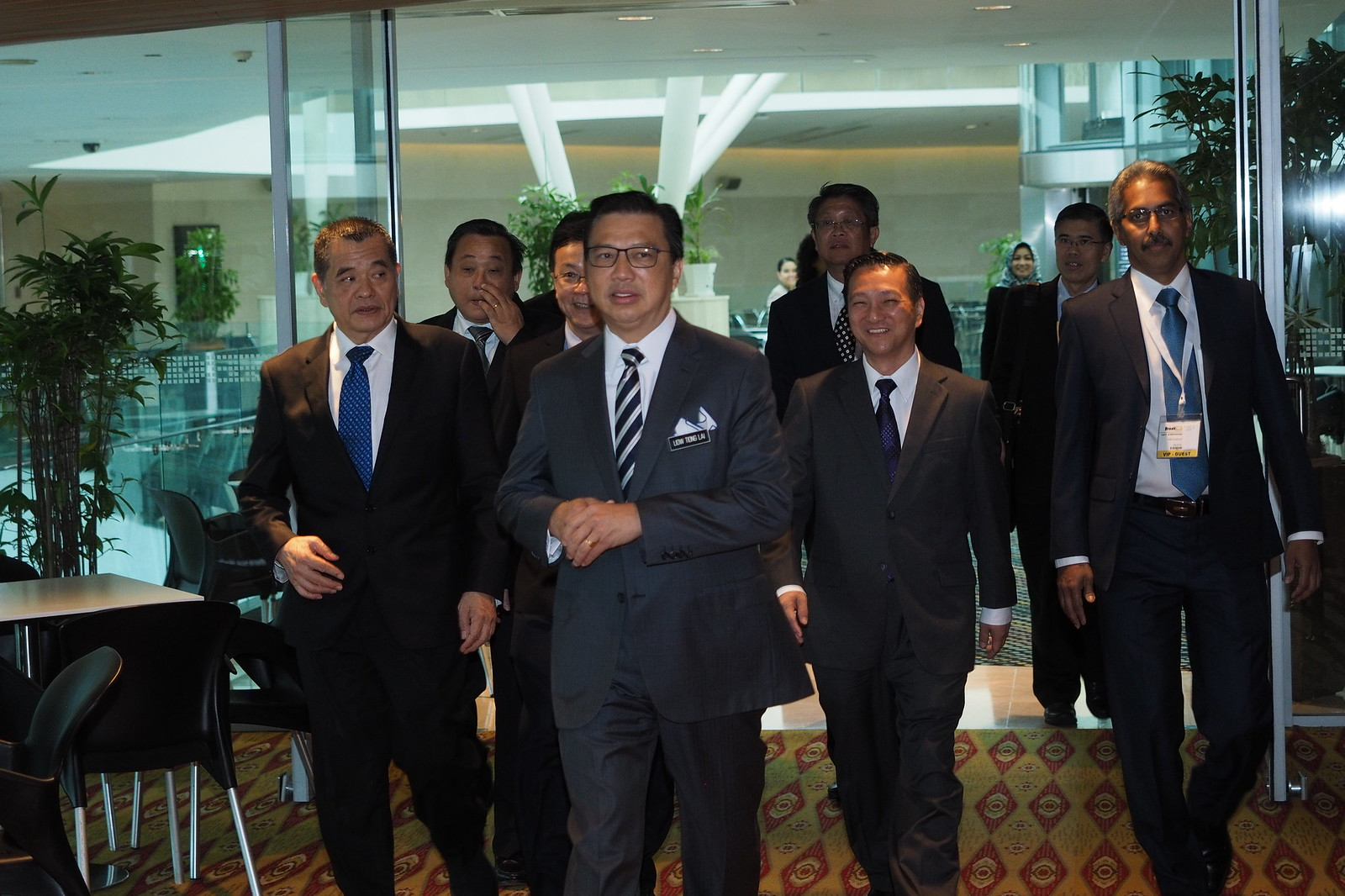 Breakbulk Southeast Asia 2017: Malaysia's Minister of Transport Opens China Malaysia Port Alliance Annual Meeting
