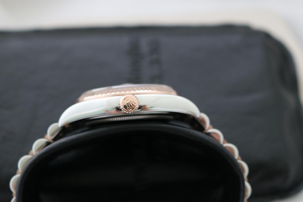 Đồng hồ rolex datejust 6 số 116231 – Đè mi hồng – mặt hạt xoàn – size 36mm Nam