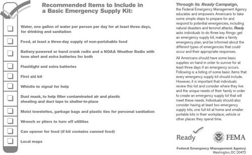 Basic Emergency Kit (01)