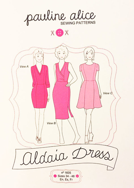 Aldaia dress pattern envelope