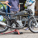 Lydden Hill August 2016 Paddock Velocette MAC No 190 001A