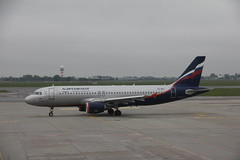 Aeroflot Airbus A320-200 VQ-BBC , Warsaw Chopin Airport  ( WAW / EPWA ) 05.09.2017