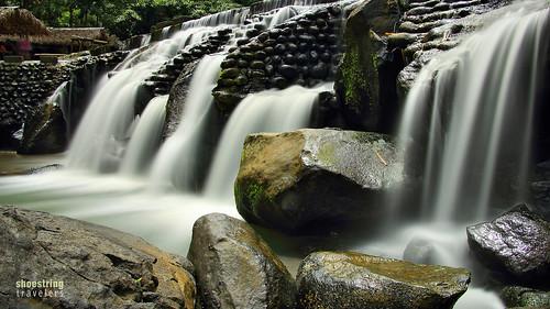 bumbunganecopark water cavinti river laguna calabarzon rocks landscape falls waterscape longexposure ndfilter outdoor waterfall