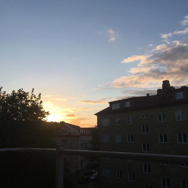 sunday, sunrise, the perks of jetlag, helsingborg