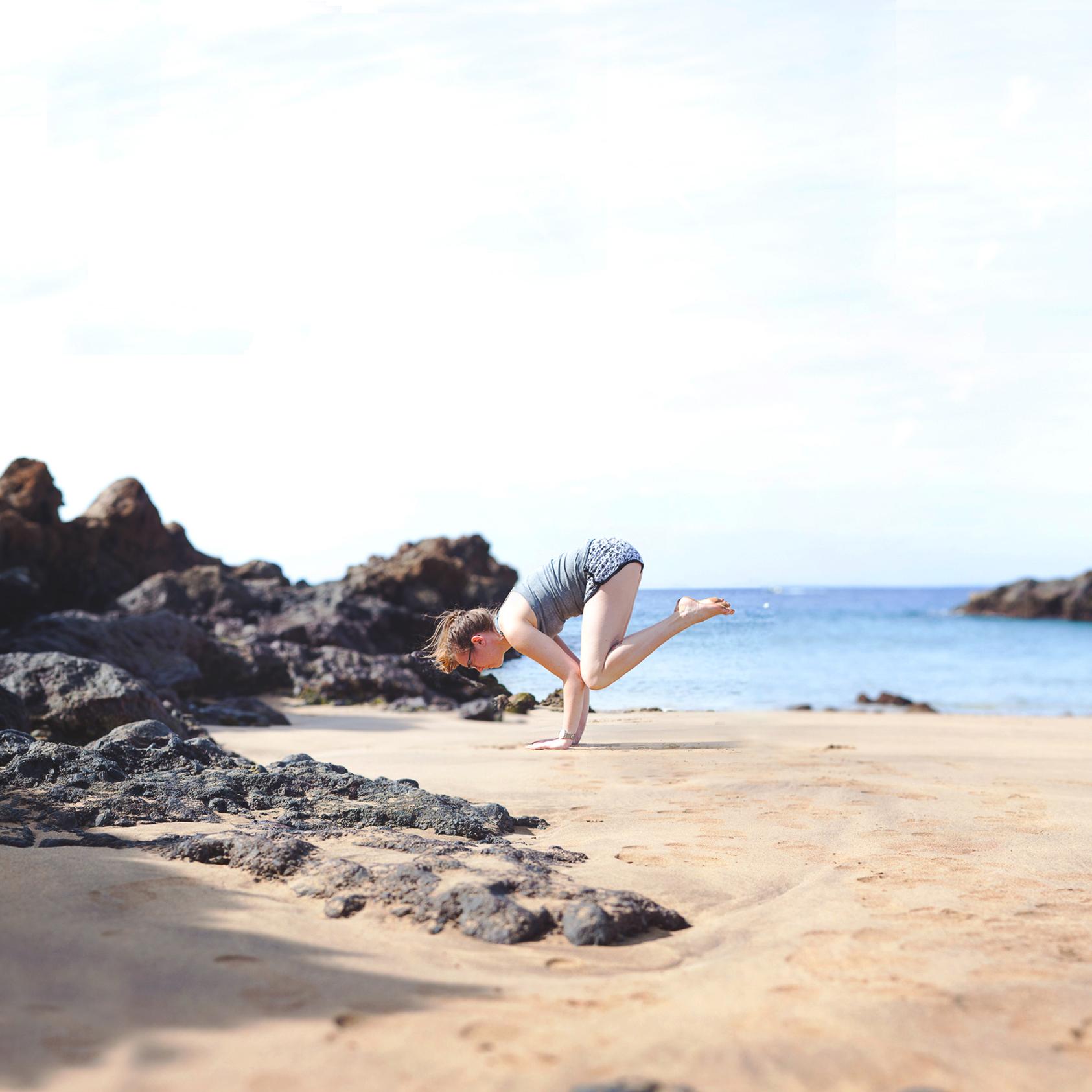 Beach Yoga Square