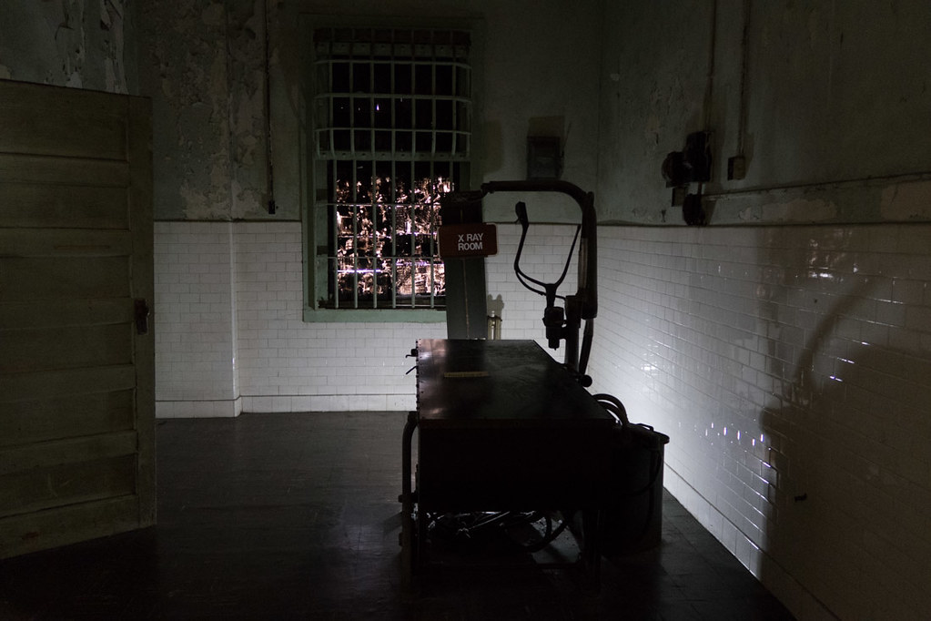 Alcatraz Infirmary Tour
