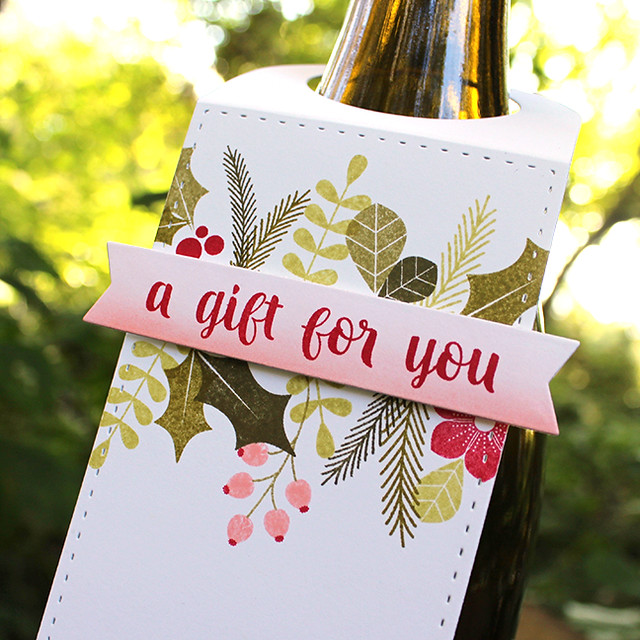 A Gift For You Wine Bottle Tag 2