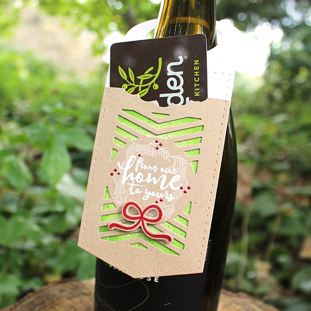 From Our Home To Yours Wine Bottle Tag 2