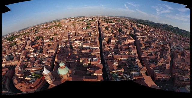 Bologna from the Asinelli Tower