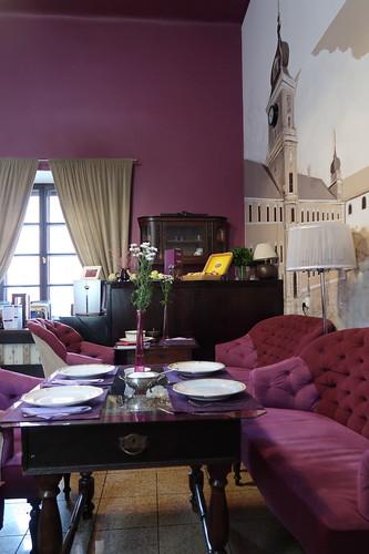 Frühstücksraum im Hotel Castle Inn in Warschau