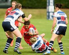 Army v Royal Navy Women's Team. The army won 34-16.