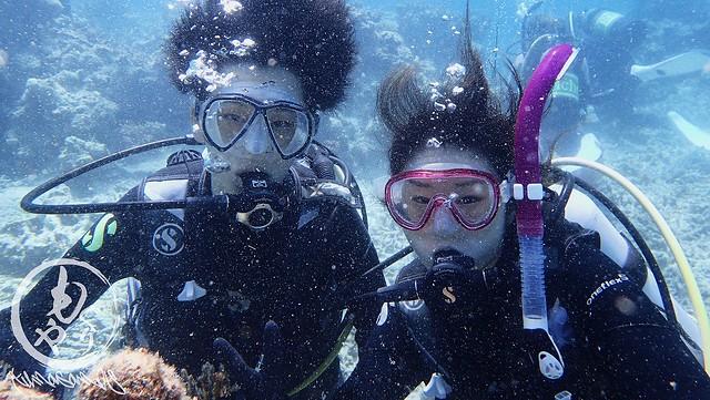 初めての体験ダイビング!楽しんでいただけれてよかった(^^)