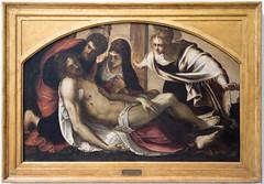 Pietà | Dead Christ with the Virgin and Saints John and Mary Magdalene | Tintoretto | Pinacoteca di Brera di Milano-17
