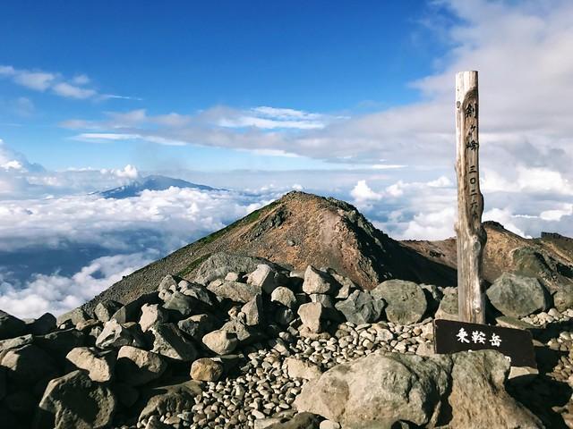 乗鞍岳 剣ヶ峰 山頂