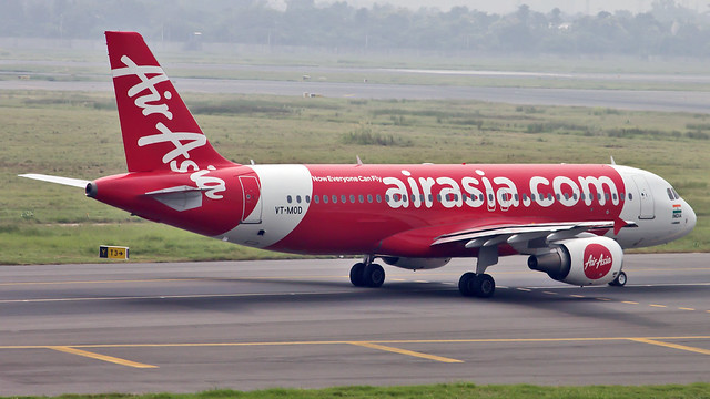 Air Asia India Airbus A320 VT-MOD New Delhi (DEL/VIDP)