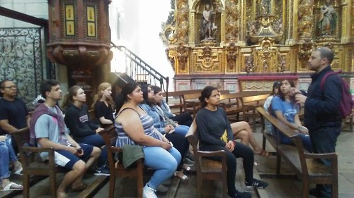 Fall 2017 Madrid Study Group 3 (photo taken by Prof. Fernando Plata)