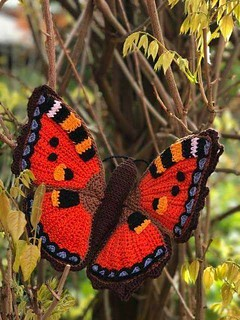 💕 what job is this? I found the pattern of this butterfly in crochet and loved delicate and chamosa see step by step