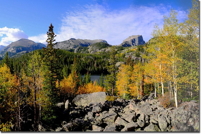 Bear Lake in Fall, taken from Bear Lake upper (10)