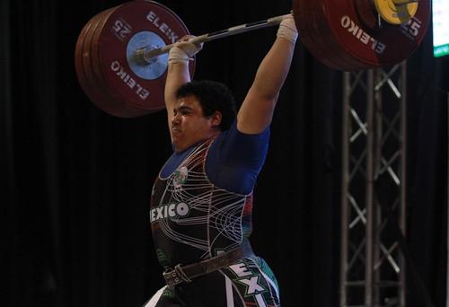 Jornada final del Campeonato Centroamericano y del Caribe de levantamiento de pesas