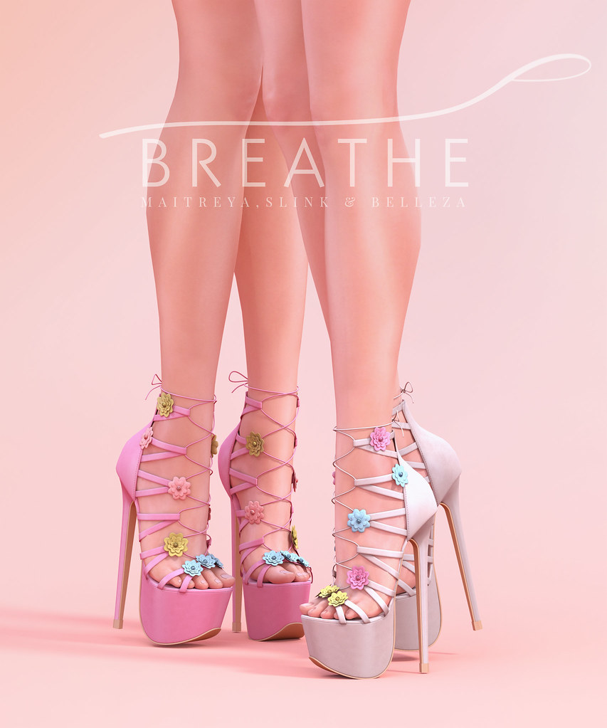 [BREATHE]-Meilin Heels - SecondLifeHub.com
