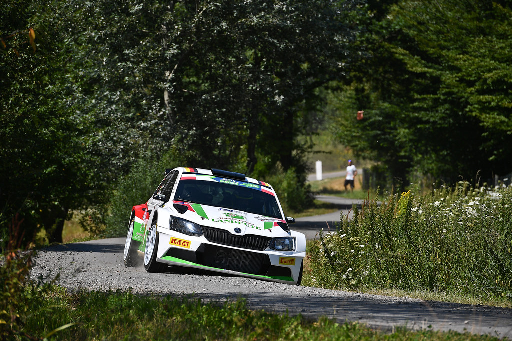 07 GRIEBEL Marijan (DEU) KOPCZYK Stefan (DEU) Skoda Fabia R5 action during the 2017 European Rally Championship Rally Rzeszowski in Poland from August 4 to 6 - Photo Wilfried Marcon / DPPI