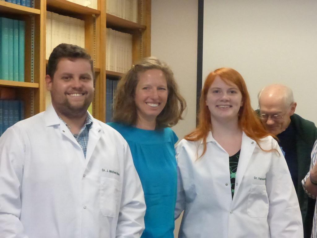 The new PhDs!