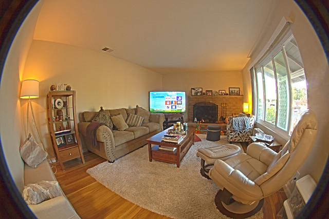 Living Room - HDR