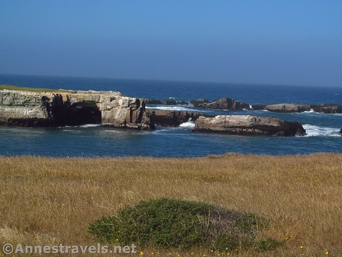 The north end of the Sea Lion Rocks in Point Arena-Stornetta National Monument, California