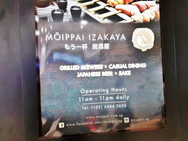 Moippai Izakaya Signage