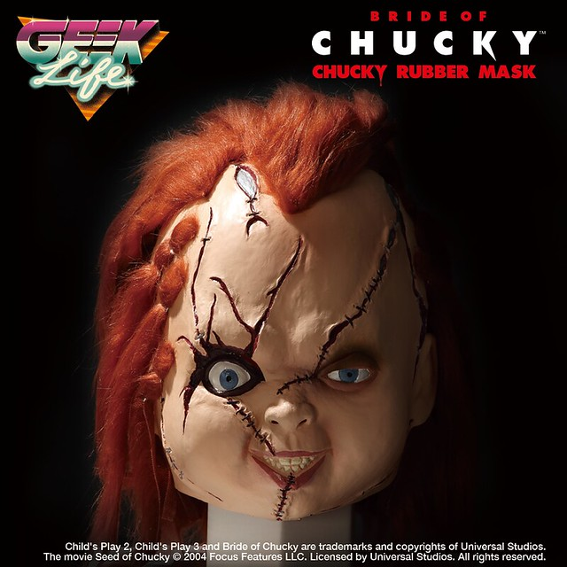 讓你變身玩具殺人王!GEEK LIFE《鬼娃新娘》【恰吉】橡皮面具 『チャッキーの花嫁』 チャッキー ラバーマスク