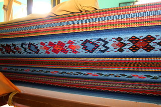 Oaxaca rug weaving patterns