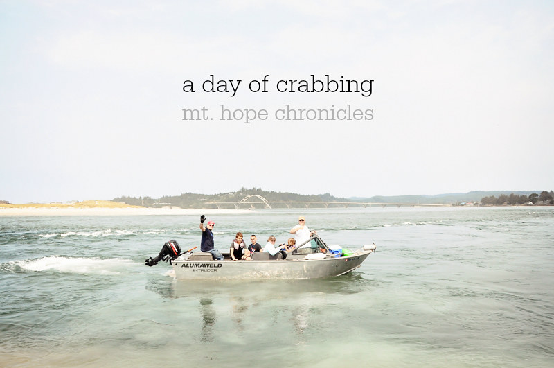 A Day of Crabbing @ Mt. Hope Chronicles