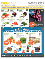 Labor Day Deals! 9-1 to 9-7-17