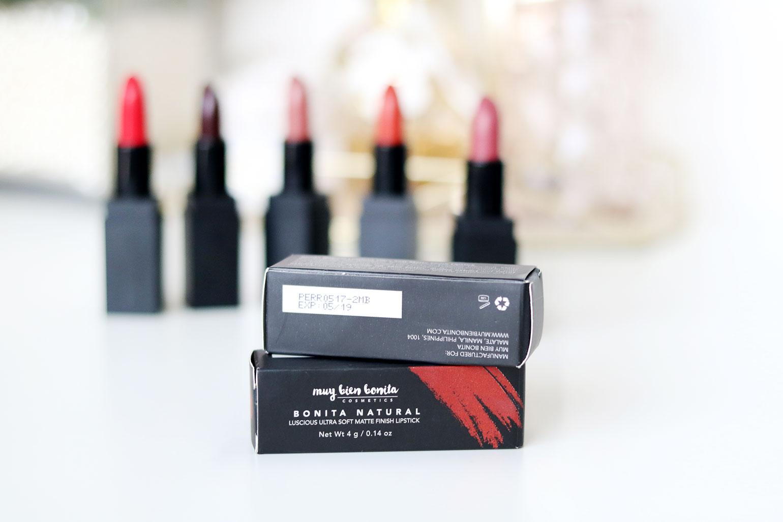 2 Muy Bien Bonita Cosmetics Lipsticks Review - Gen-zel She Sings Beauty