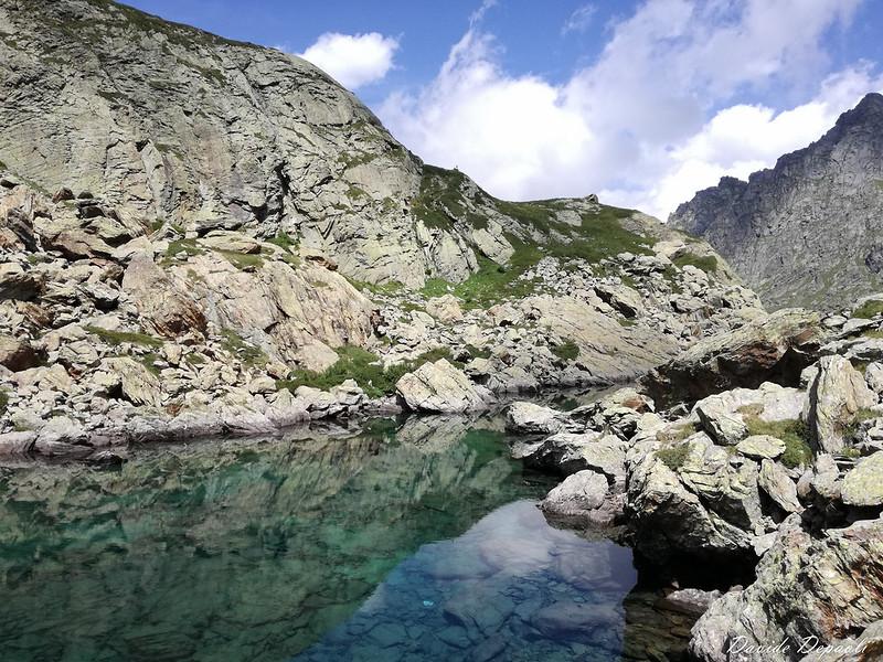 Lago Paschiet 2003 m e Laghi Verdi 2142 m