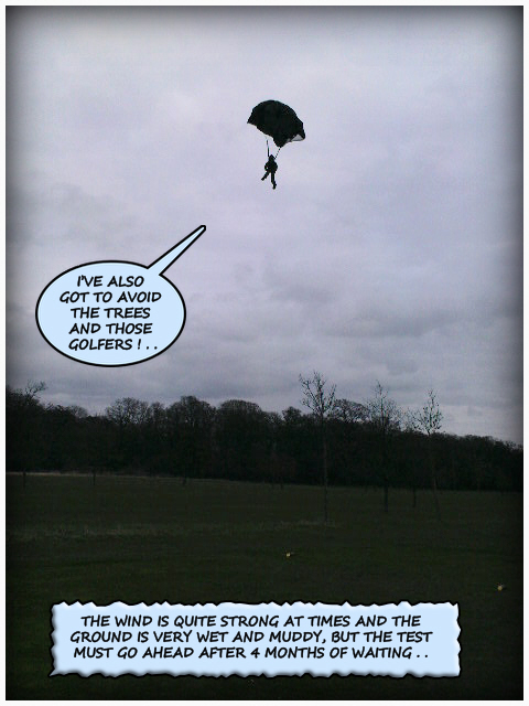 High Speed Parachute Test 1 (Top Secret).. 36219316164_0183a3082e_o