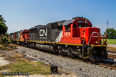 CN 5416 | EMD SD60 | NS Memphis District