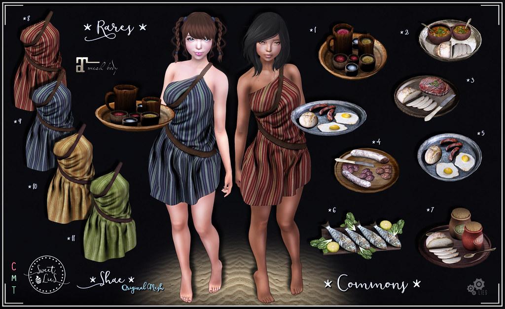 Shae Outfit Gacha - Sweet Lies Original - SecondLifeHub.com
