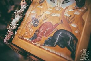 Литургия в Хутынском монастыре 337