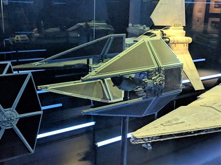 Imperial TIE Interceptor Model