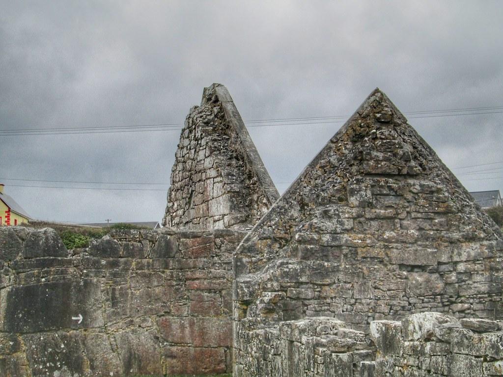 Aran Islands Inis Mor church walls